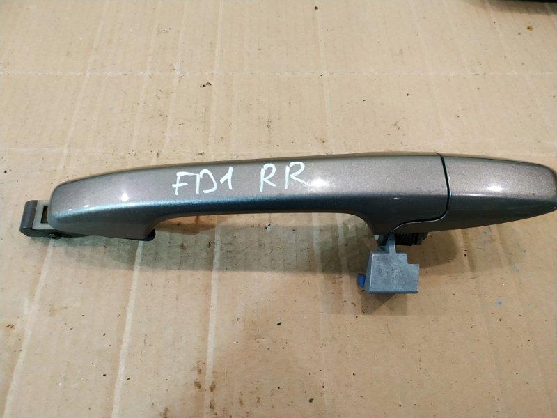 Ручка наружная Honda Civic FD1 R18A 2005 задняя правая