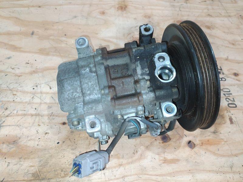 Компрессор кондиционера Toyota Corolla Spacio AE111N 4A-FE 2000