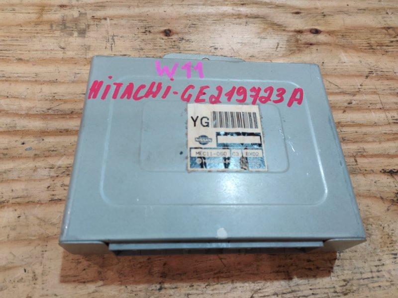 Блок управления двс Nissan Avenir W11 QG18DE 1998