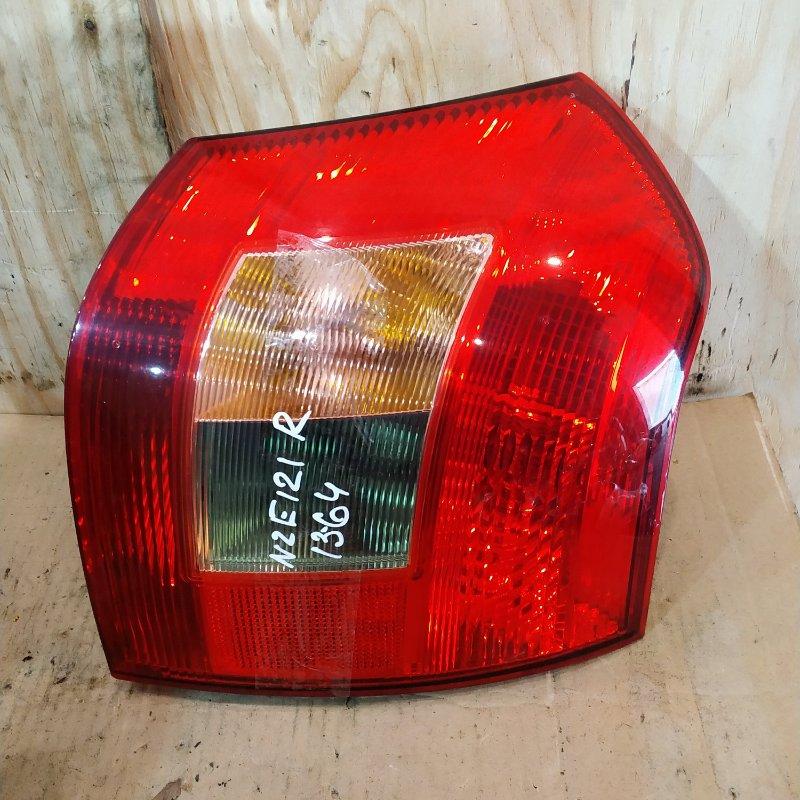 Фонарь стоп-сигнала Toyota Allex NZE121 1NZ-FE 2001 правый