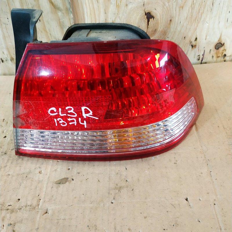 Фонарь стоп-сигнала Honda Accord CL3 F20B 2002 правый