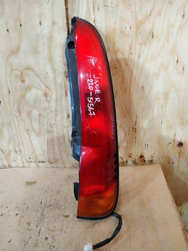 Фонарь стоп-сигнала Toyota Cami J100E HC-EJ 1999 правый