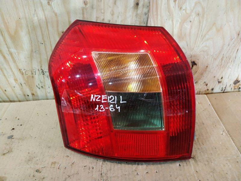 Фонарь стоп-сигнала Toyota Allex NZE121 1NZ-FE 2001 левый