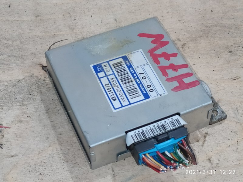 Блок управления кпп Mitsubishi Pajero Io H77W 4G94 2002