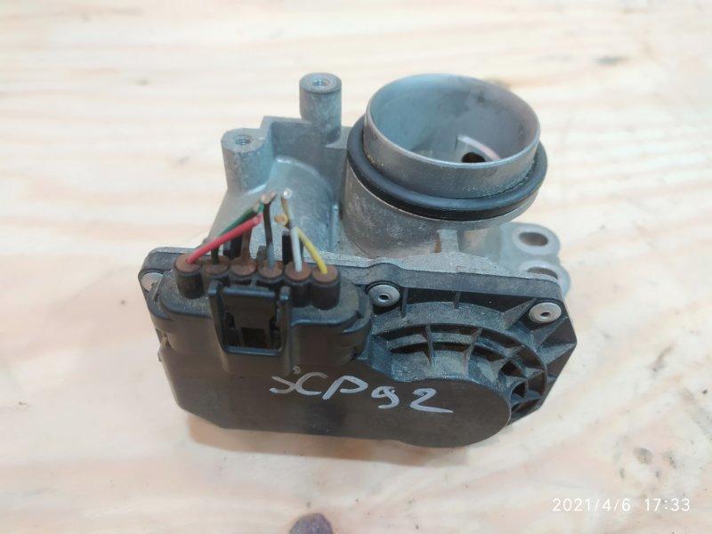 Заслонка дроссельная Toyota Belta SCP92 2SZ-FE 2006