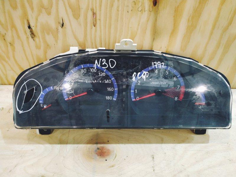 Комбинация приборов Nissan Rnessa N30 SR20DE 1999
