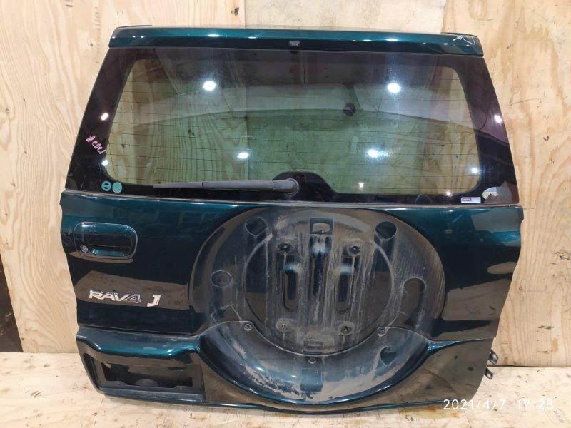Дверь задняя багажника Toyota Rav4 ACA21W 1AZ-FSE 2000