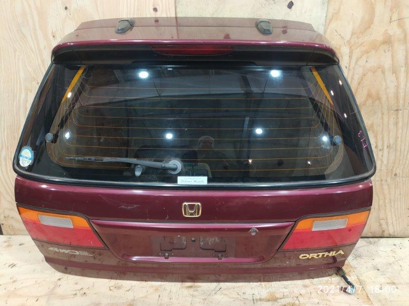Дверь задняя багажника Honda Orthia EL3 B20B 1997