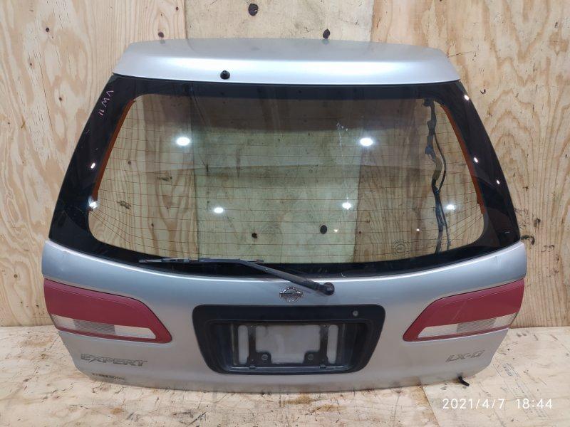 Дверь задняя багажника Nissan Expert VW11 QG18DE 2001