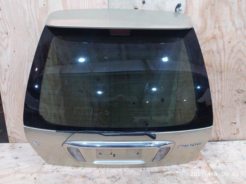 Дверь задняя багажника Toyota Nadia SXN15 3S-FE 2001