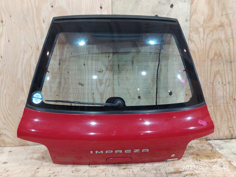 Дверь задняя багажника Subaru Impreza GF1 EJ15 1995