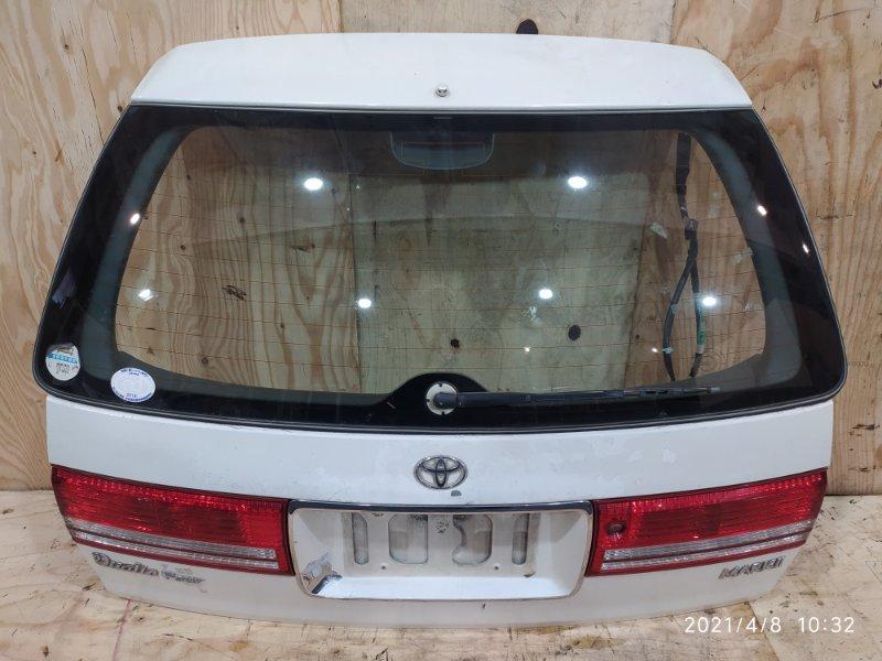 Дверь задняя багажника Toyota Mark Ii Qualis SXV25W 5S-FE 1998