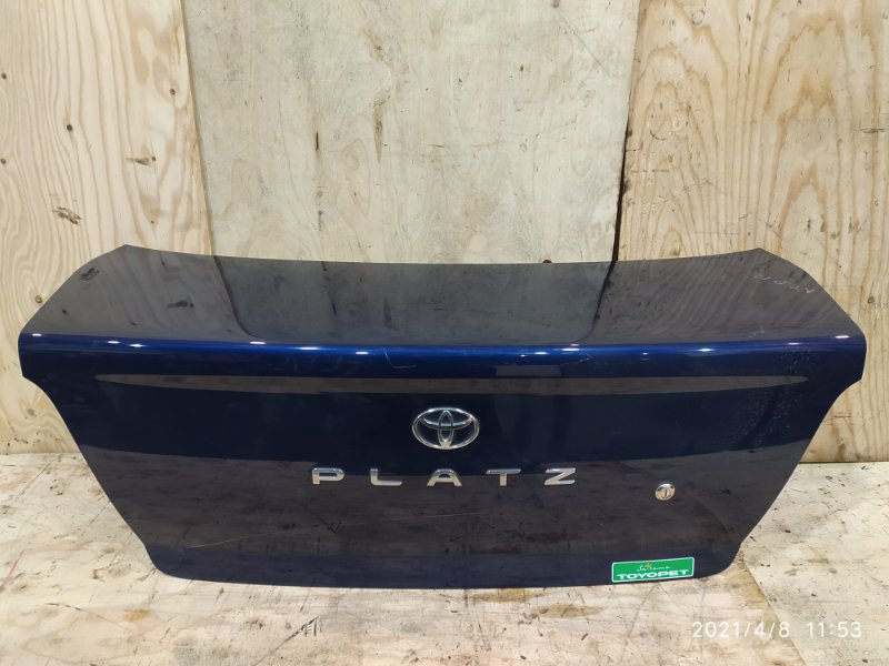 Крышка багажника Toyota Platz NCP12 1NZ-FE 2002