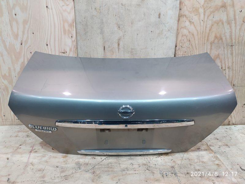 Крышка багажника Nissan Bluebird Sylphy FG10 QG15DE 2004