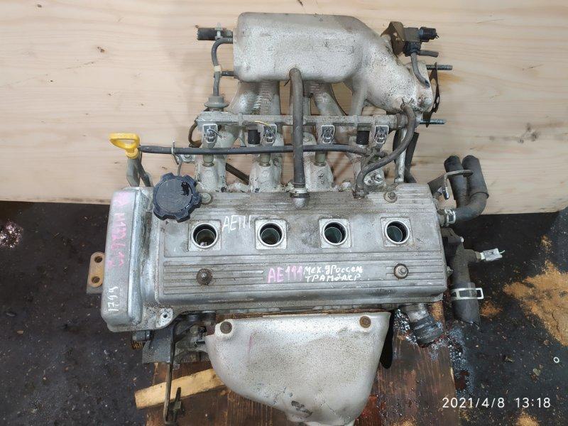 Двигатель Toyota Corolla Spacio AE111N 4A-FE 1997