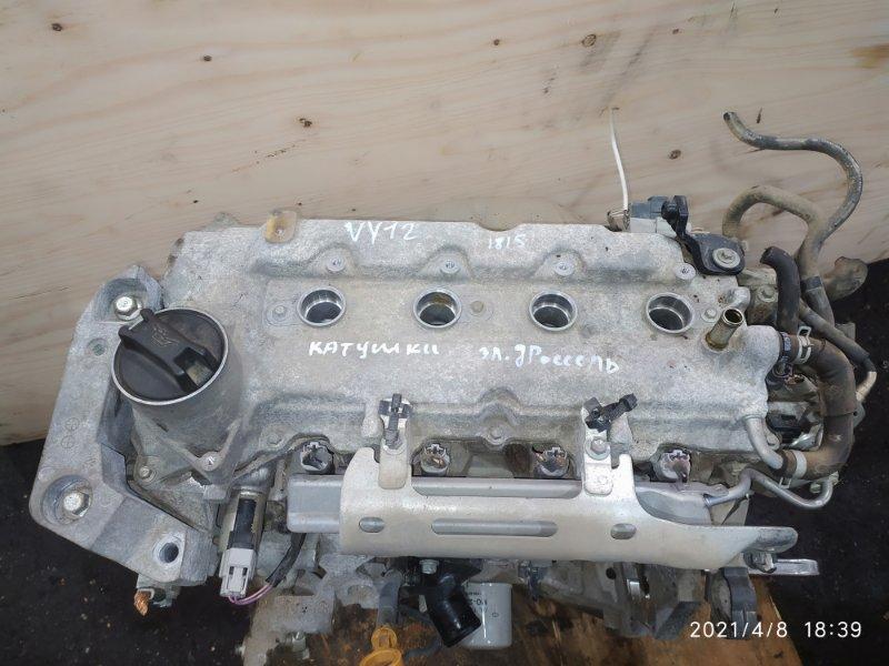 Двигатель Nissan Ad VY12 HR15DE 2008