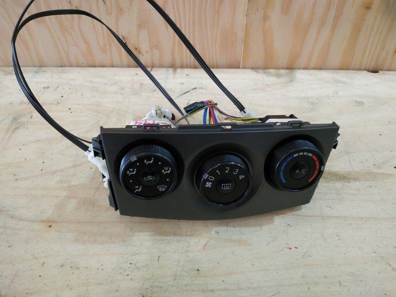 Блок управления климат-контролем Toyota Corolla Fielder NZE144 1NZ-FE 2007
