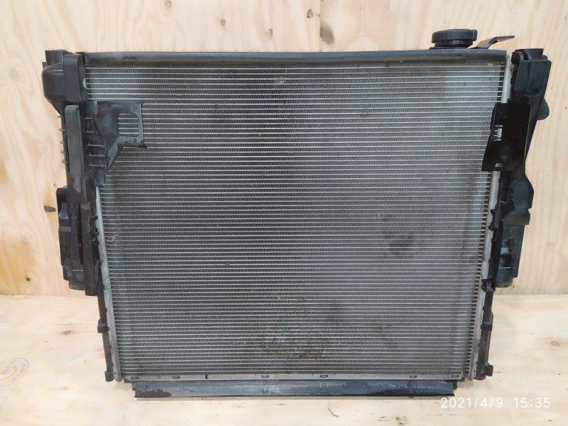 Радиатор двигателя Bmw X3 E83 N52B30 2007
