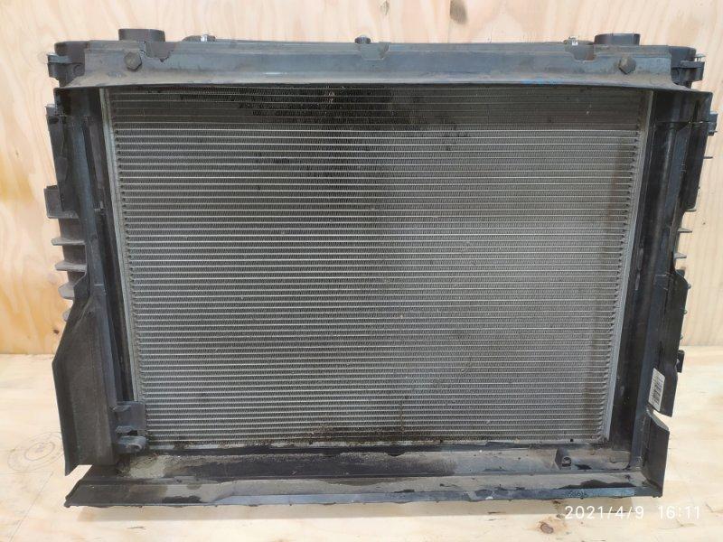 Радиатор двигателя Bmw 525I E60 N52B25 2008