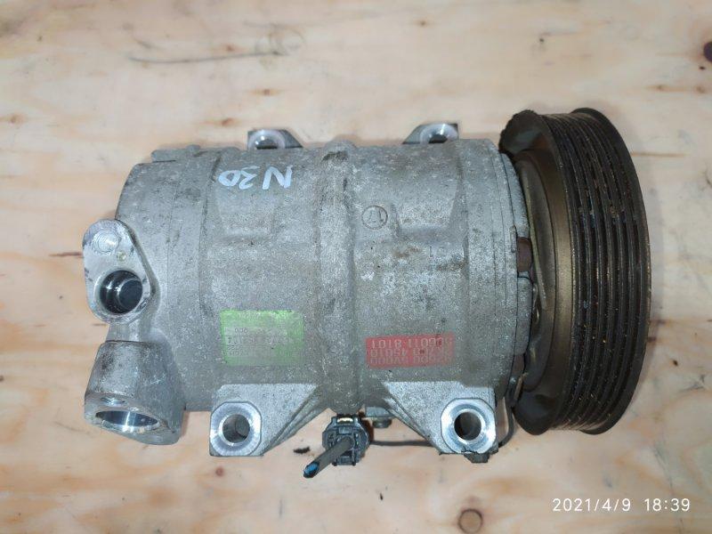 Компрессор кондиционера Nissan Rnessa N30 SR20DE 1999