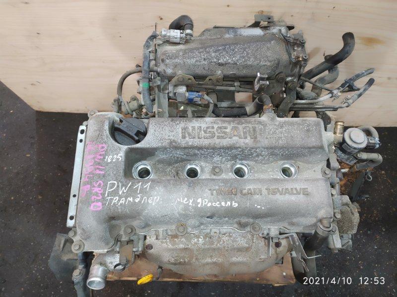 Двигатель Nissan Avenir PW11 SR20DE 2001