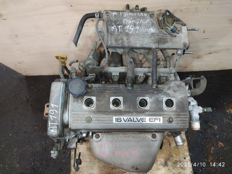 Двигатель Toyota Carina AT191 7A-FE 1994