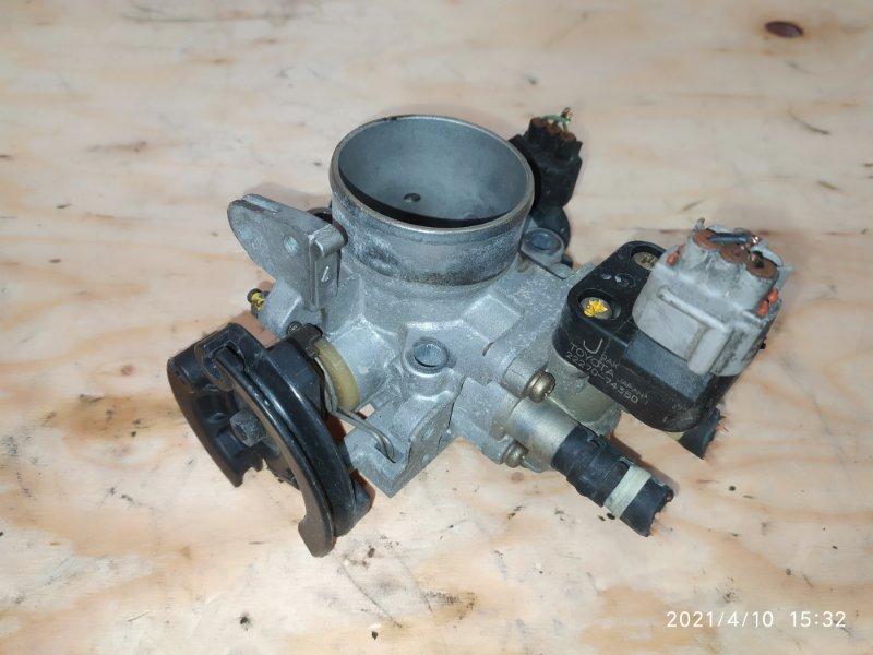 Заслонка дроссельная Toyota Corona Premio ST215 3S-FE 1999