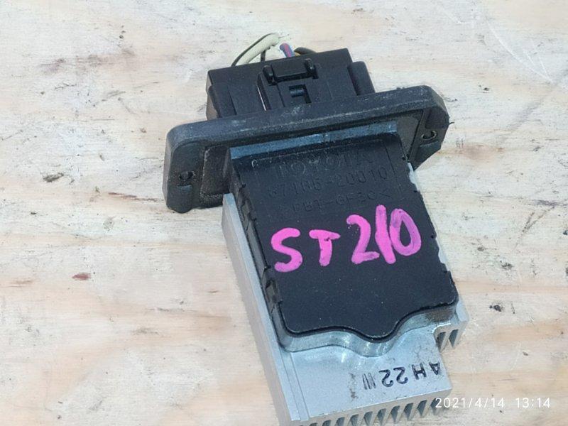 Реостат печки Toyota Corona Premio ST210 3S-FSE 2001