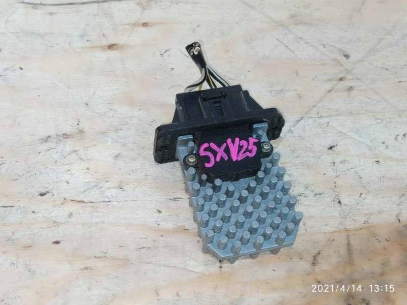 Реостат печки Toyota Mark Ii Qualis SXV25W 5S-FE 1998