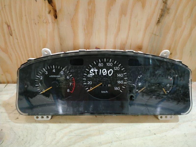 Комбинация приборов Toyota Caldina ST190G 4S-FE 1994