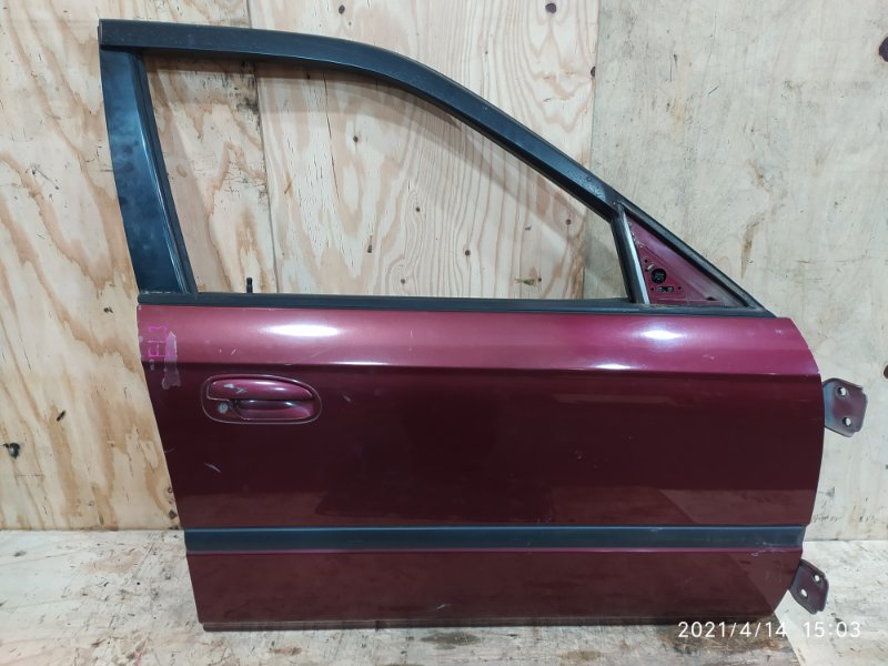 Дверь боковая Honda Orthia EL3 B20B 1997 передняя правая