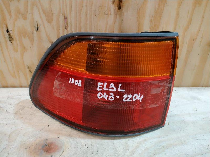 Фонарь стоп-сигнала Honda Orthia EL3 B20B 1997 левый