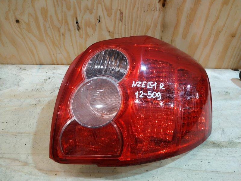 Фонарь стоп-сигнала Toyota Auris NZE151 1NZ-FE 2007 правый