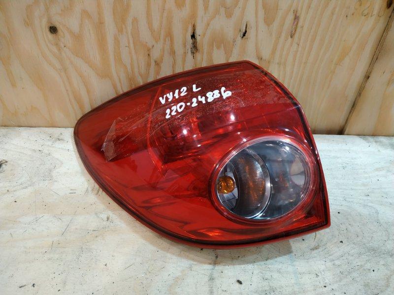 Фонарь стоп-сигнала Nissan Ad VY12 HR15DE 2008 левый