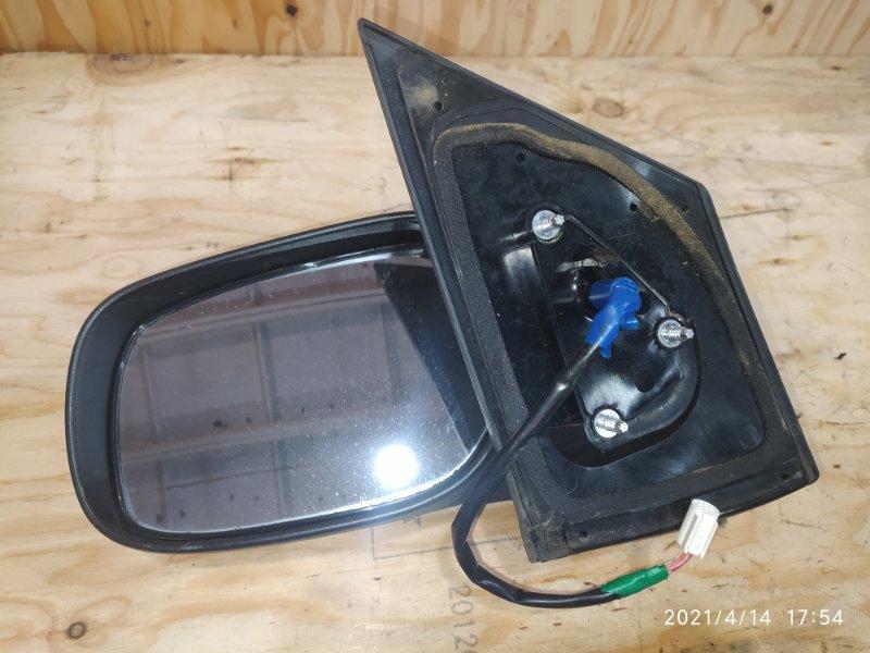 Зеркало боковое Toyota Belta SCP92 2SZ-FE 2006 левое