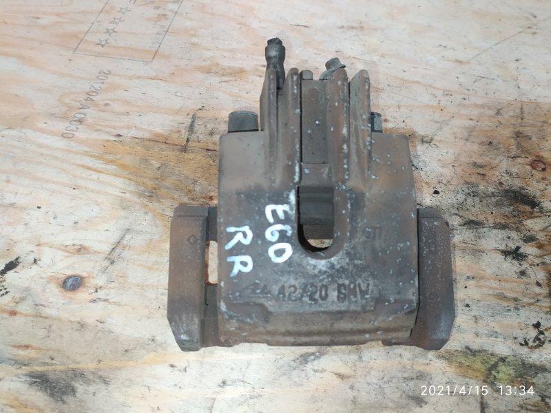 Суппорт Bmw 525I E60 N52B25 2008 задний правый