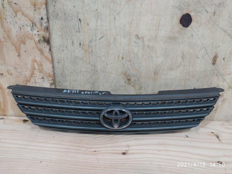 Решетка радиатора Toyota Corolla Spacio AE111N 4A-FE 2000