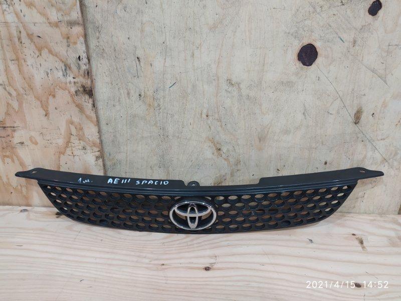 Решетка радиатора Toyota Corolla Spacio AE111N 4A-FE 1997