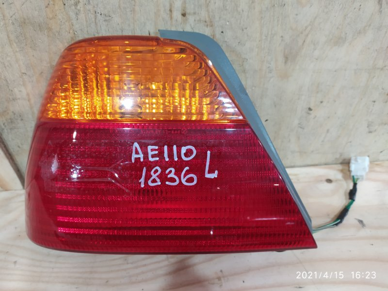 Фонарь стоп-сигнала Toyota Sprinter AE110 5A-FE 1999 левый