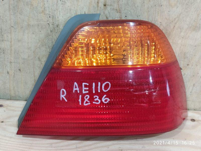 Фонарь стоп-сигнала Toyota Sprinter AE110 5A-FE 1999 правый