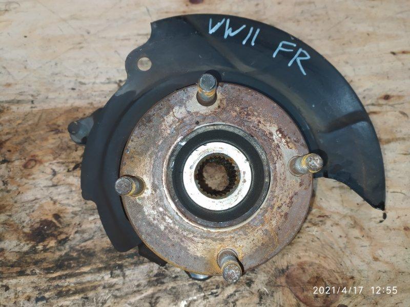 Ступица Nissan Expert VW11 QG18DE 2001 передняя правая