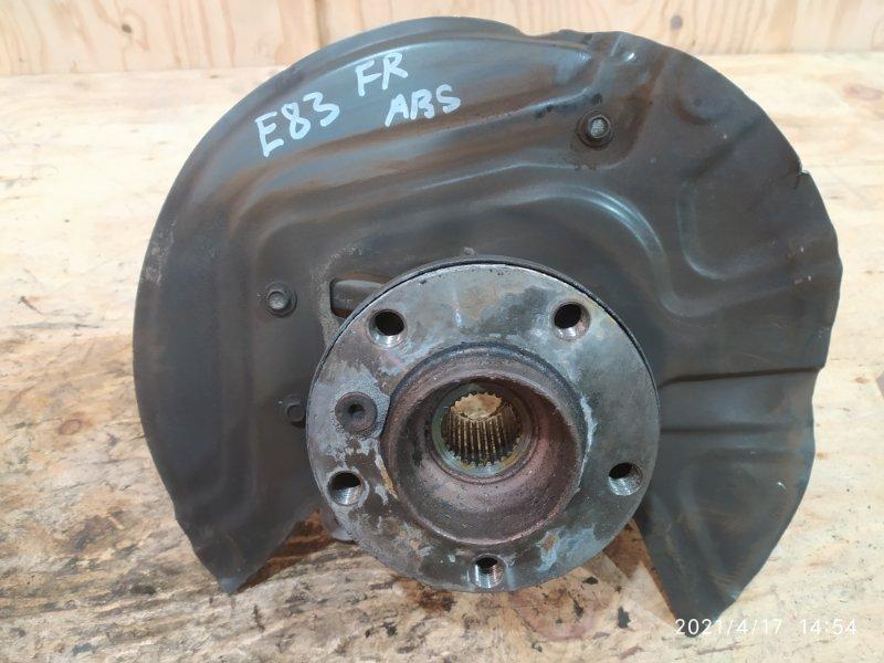 Ступица Bmw X3 E83 N52B30 2007 передняя правая