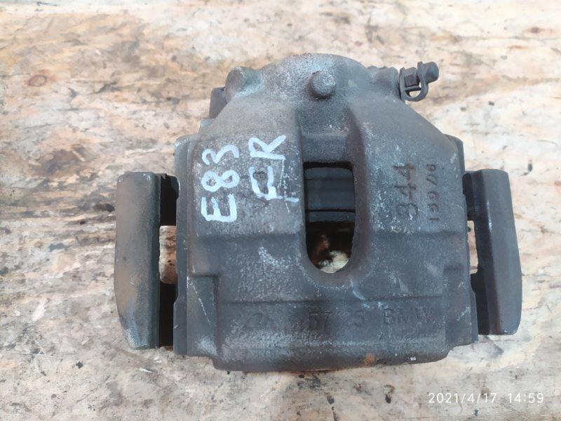 Суппорт Bmw X3 E83 N52B30 2007 передний правый