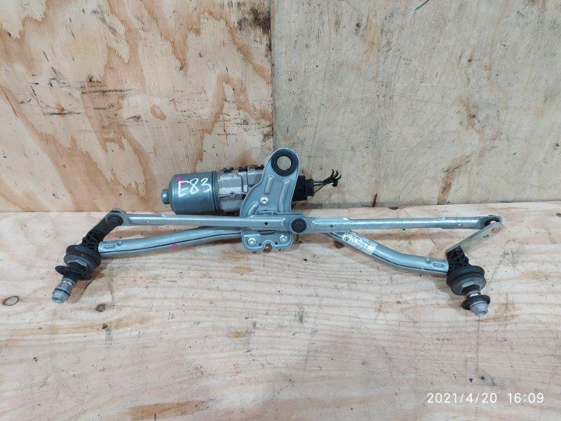 Привод дворников Bmw X3 E83 N52B30 2007 передний