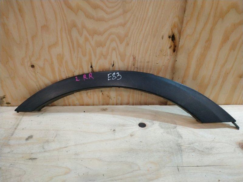 Накладка на крыло Bmw X3 E83 N52B30 2007 задняя правая