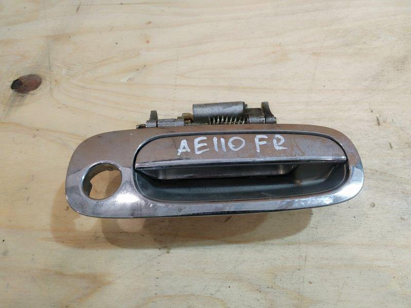 Ручка наружная Toyota Sprinter AE110 5A-FE 1999 передняя правая