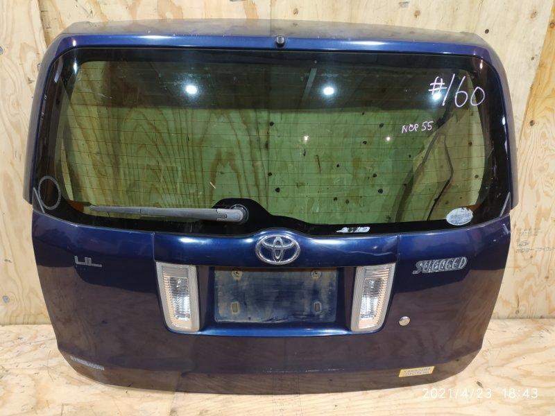 Дверь задняя багажника Toyota Succeed NCP55V 1NZ-FE 2005