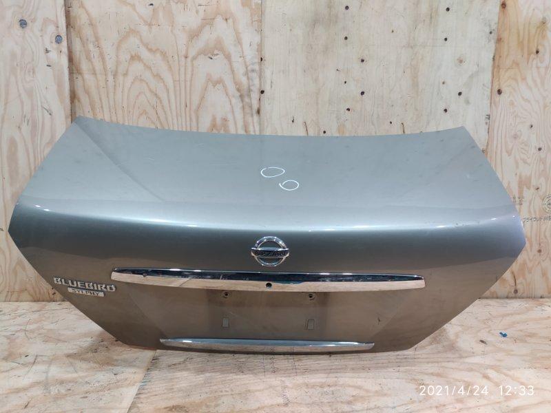 Крышка багажника Nissan Bluebird Sylphy FG10 QG15DE 2005
