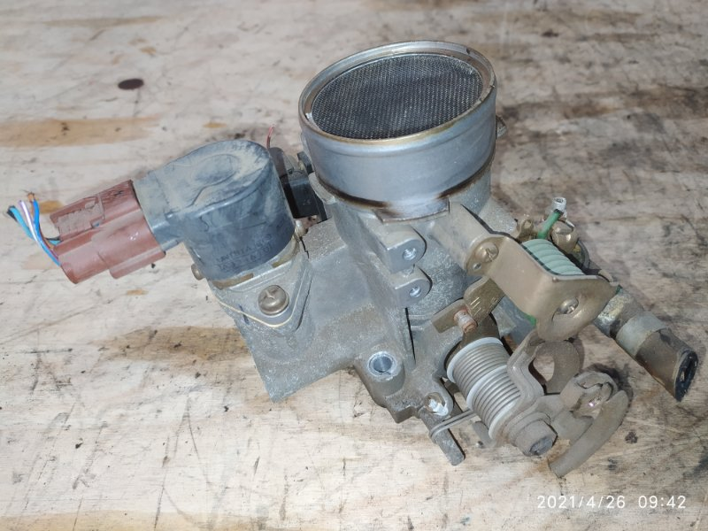 Заслонка дроссельная Nissan Sunny FB14 GA15DE 1998