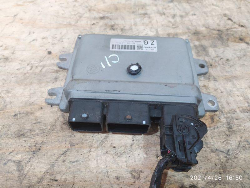 Блок управления двс Nissan Tiida C11 HR15DE 2010